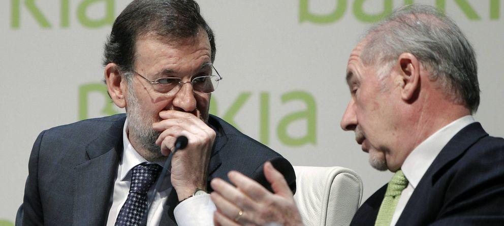 Foto: Mariano Rajoy y Rodrigo Rato. (Efe)