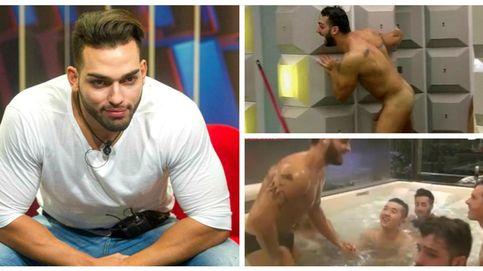 Ricky escandaliza las redes sociales con el vídeo de su desnudo integral en 'GH'