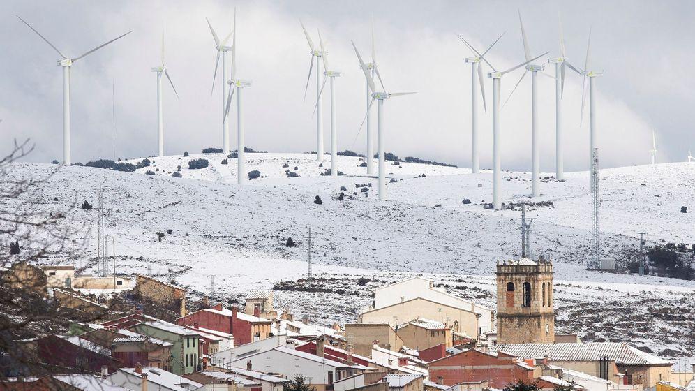 Foto: Foto de recurso de un parque eólico. (EFE)