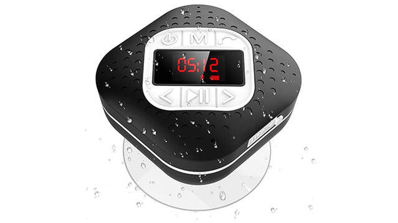 Altavoz Bluetooth portátil para ducha de AGPTEK
