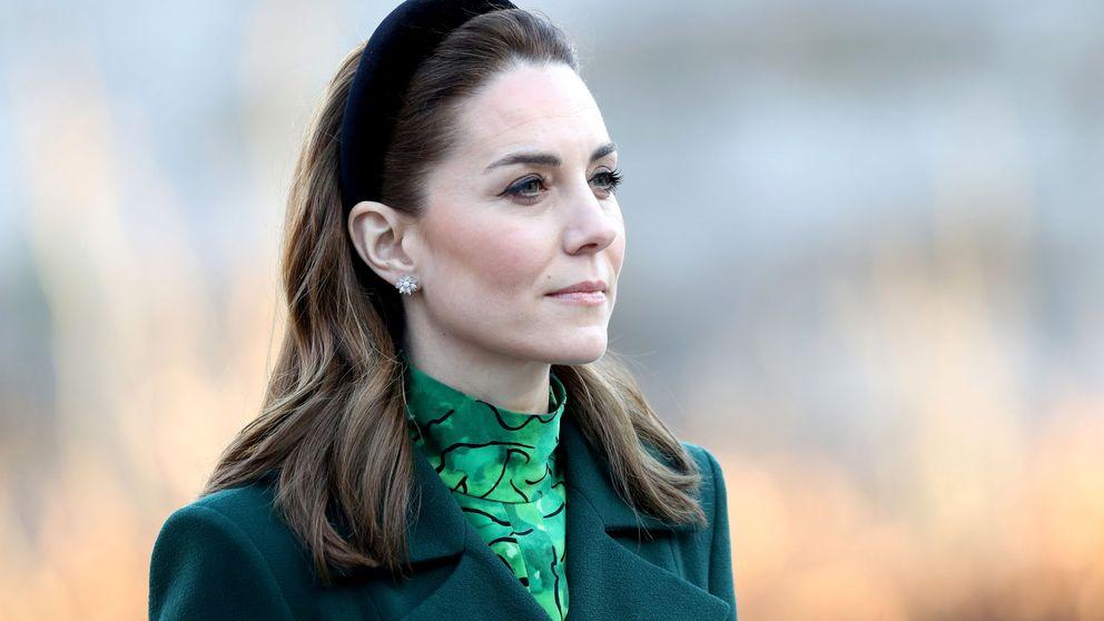 Kate Middleton sigue echando mano de su fondo de armario con este vestido verde