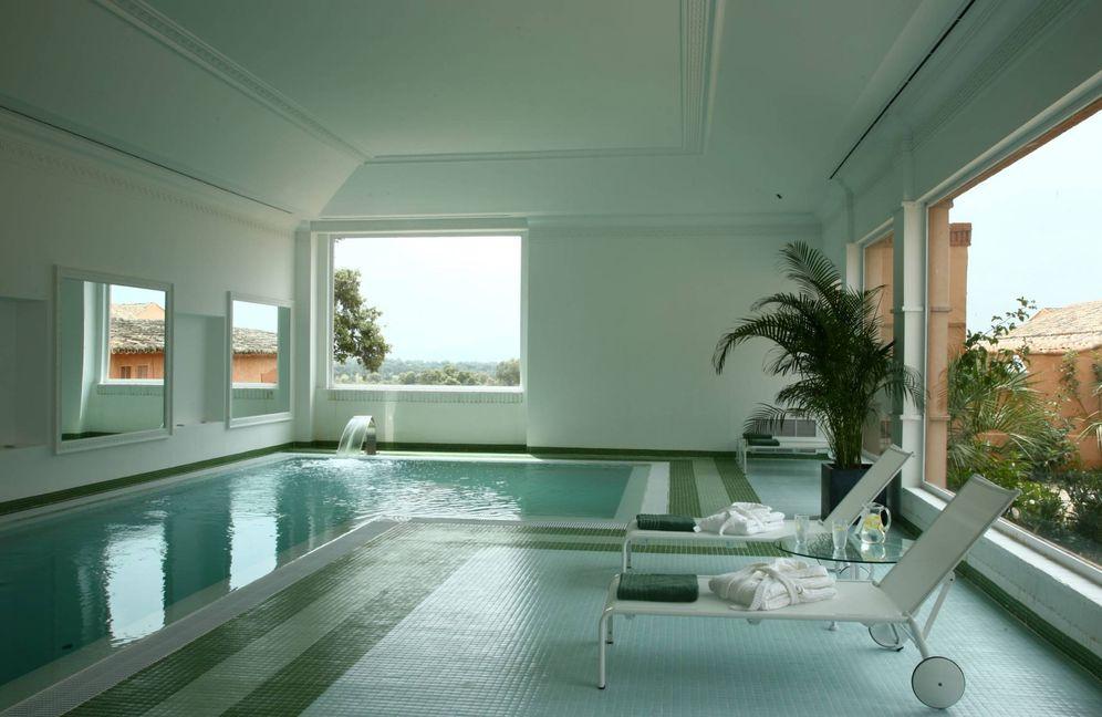 Foto: El spa del hotel Valdepalacios te quitará todas las penas. (Cortesía)