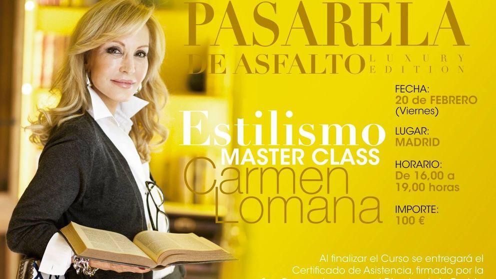 Carmen Lomana, 'coach' de estilo y lujo por 33 euros la hora