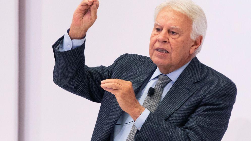 Foto: El expresidente del Gobierno Felipe González. (EFE)