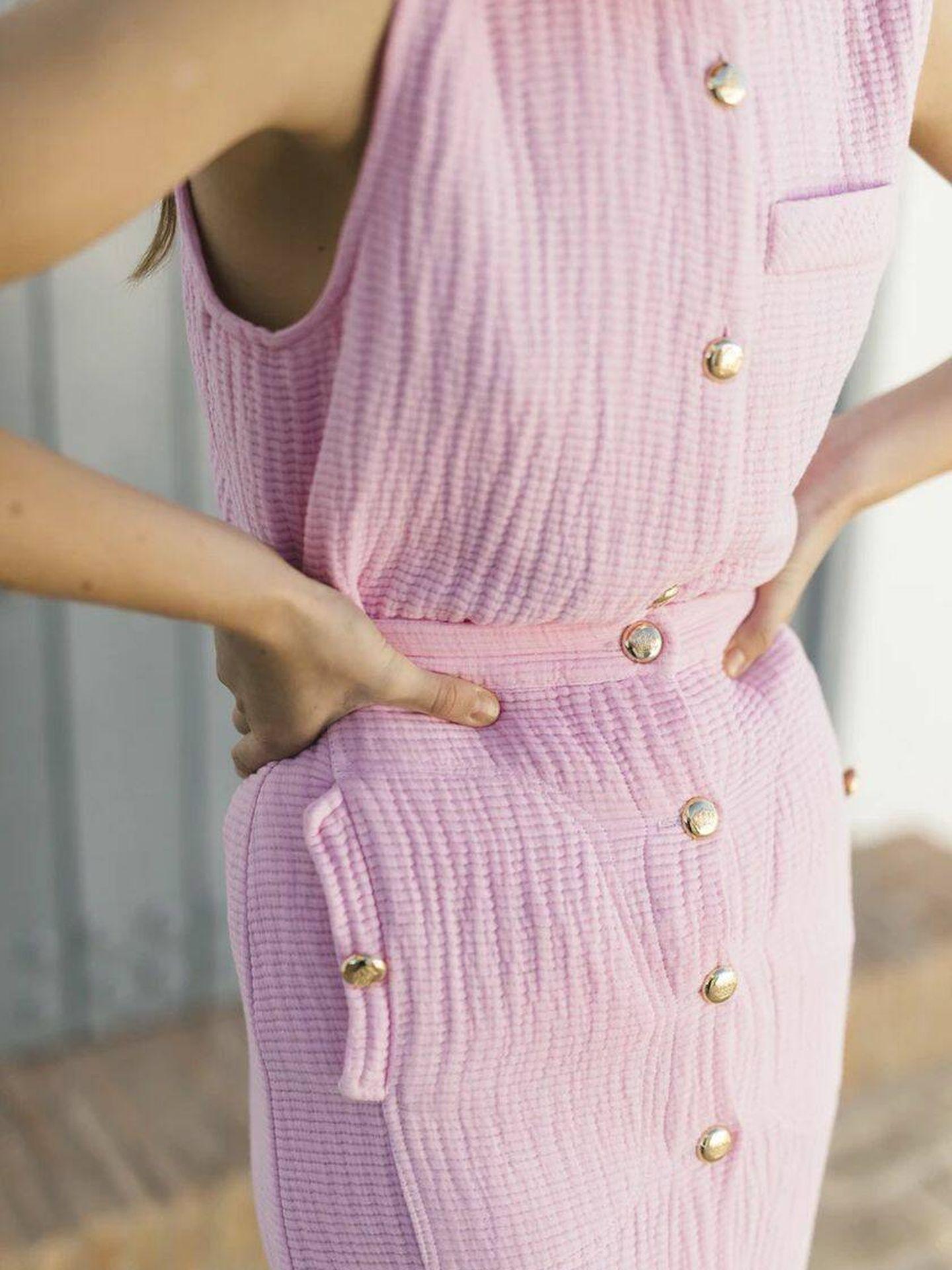 Falda modelo Onassis de la marca Josephine Clothing. (Cortesía)
