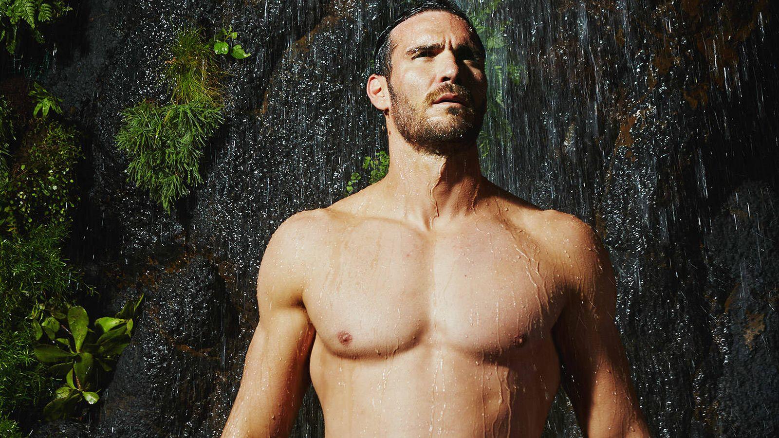 Foto: El piragüista olímpico Saúl Craviotto ha sido la imagen del perfume Agua Fresca Citrus Cedro de Adolfo Domínguez.