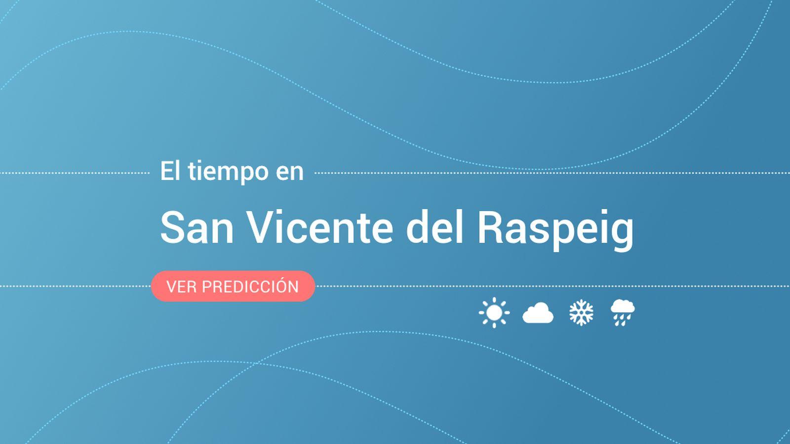 Foto: El tiempo en San Vicente del Raspeig / Sant Vicent del Raspeig. (EC)