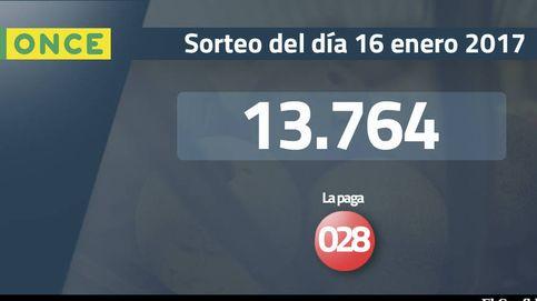Resultados del sorteo de la ONCE del 16 enero 2017: número 13.764