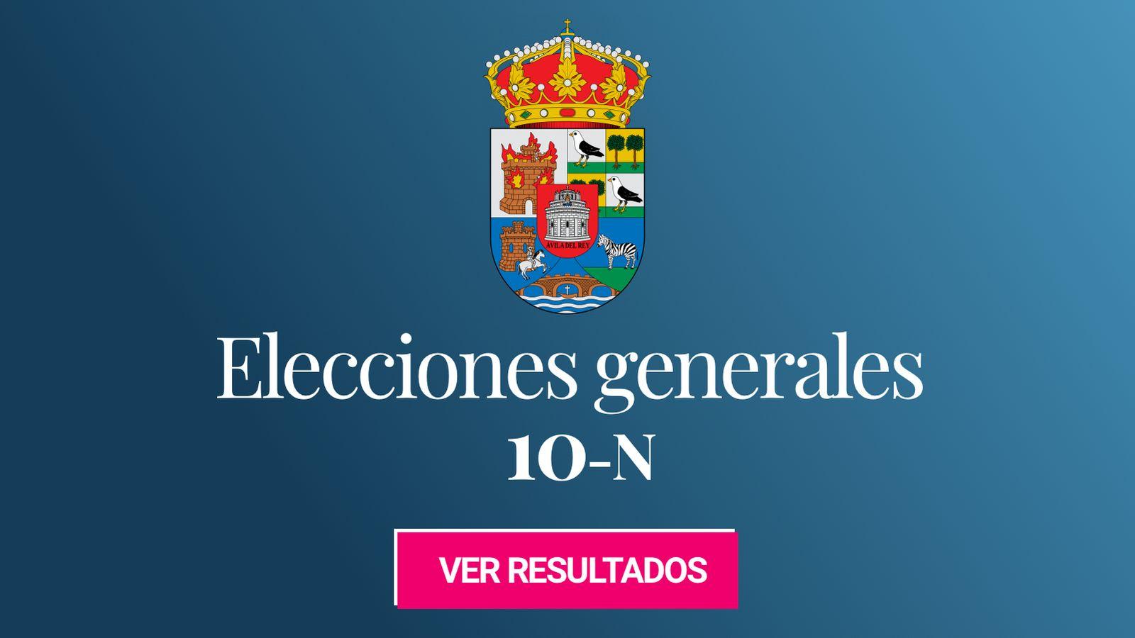 Foto: Elecciones generales 2019 en la provincia de Ávila. (C.C./HansenBCN)