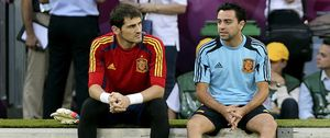 Foto: Xavi llamó a su amigo Iker Casillas para darle ánimos después de que José Mourinho le señalara