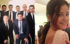 Mario Suárez y Malena Costa se van de boda