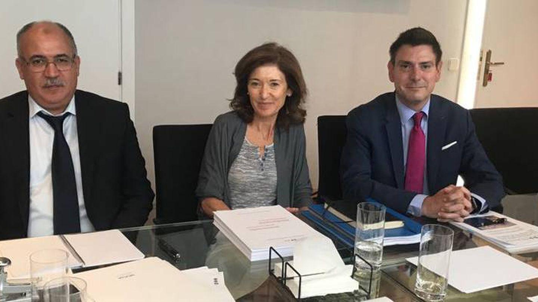 Alastrué, en la firma de un acuerdo con el Centre d'estudis del Transport per la Mediterrània Occidental.