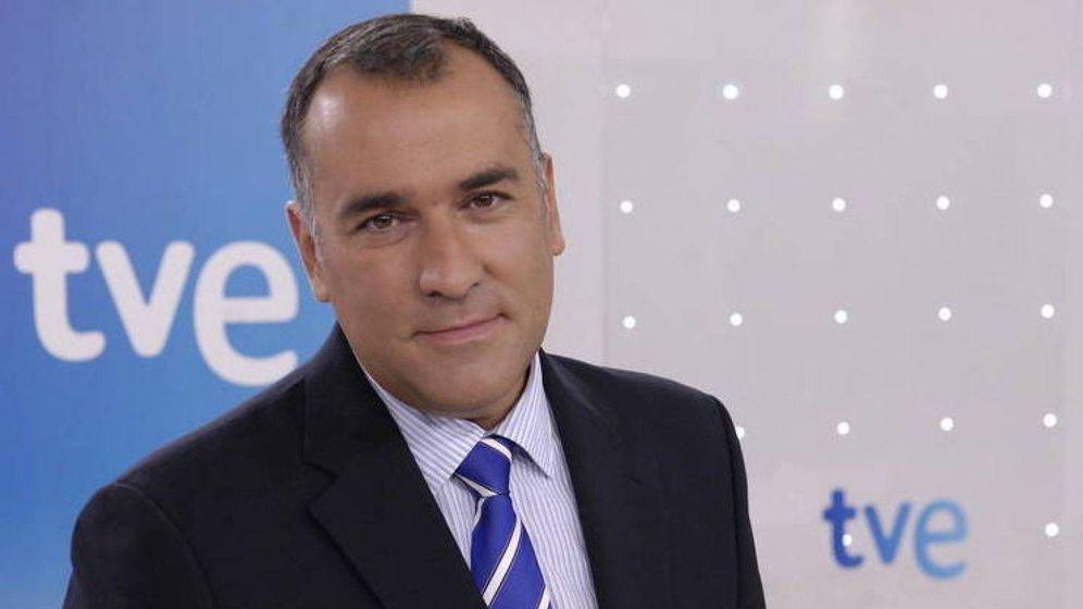Foto: El presentador Xabier Fortes. (RTVE)