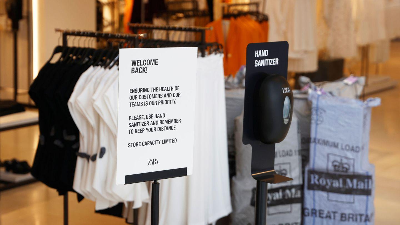 Tienda de Zara en Londres. (Reuters)