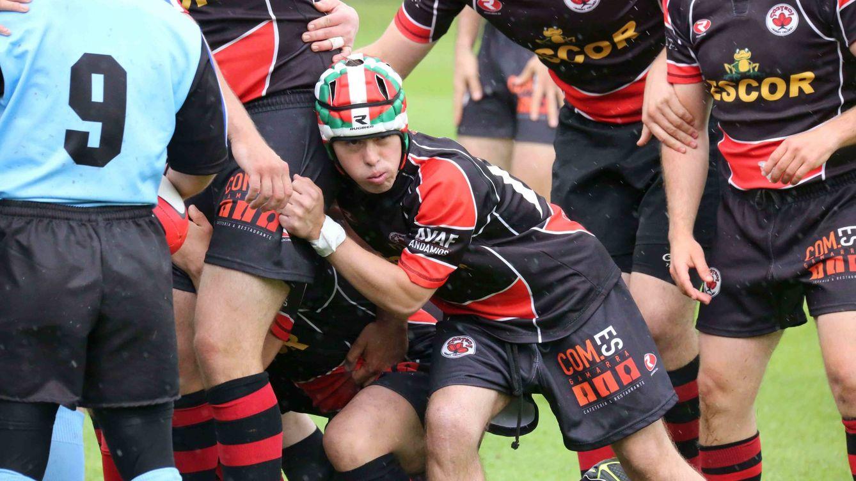 Aritz, el chico con síndrome de Down que enseñó a crecer a su familia con el rugby