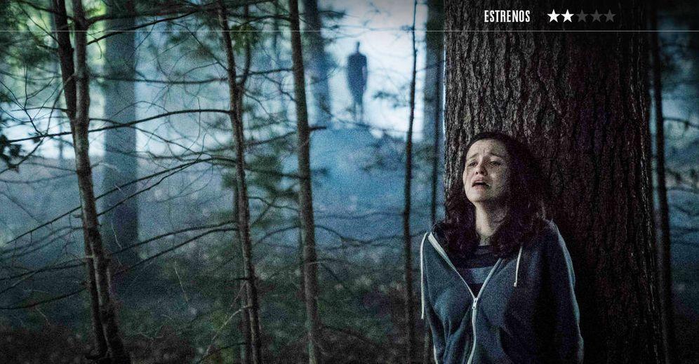 Foto: Julia Goldani Telles es Hallie en 'Slender Man'. (Sony)