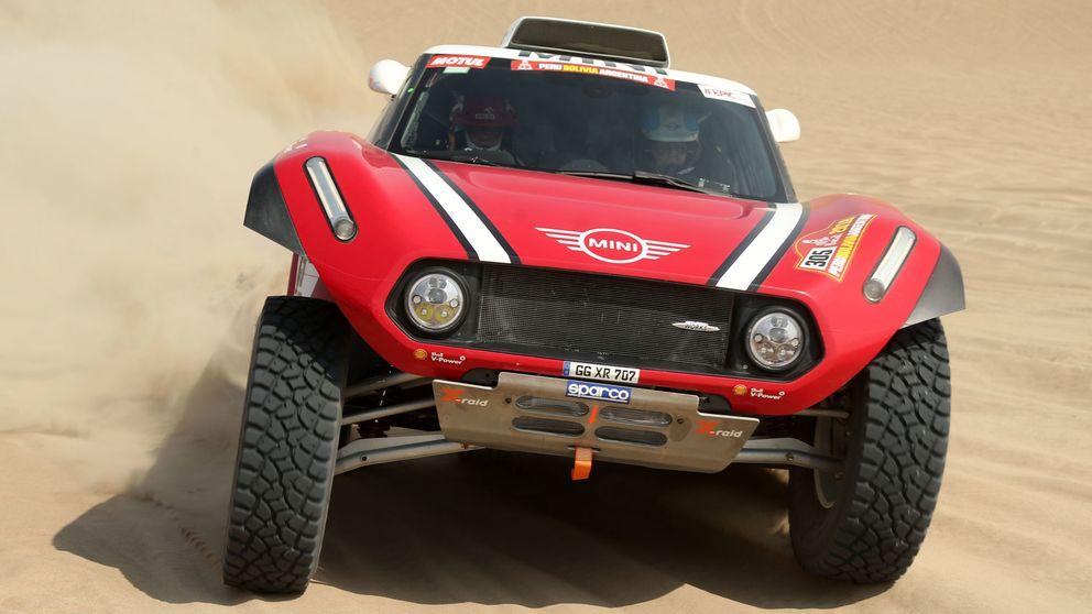 El Dakar sacó muy pronto su bate de béisbol y se cebó con el proyecto de Mini