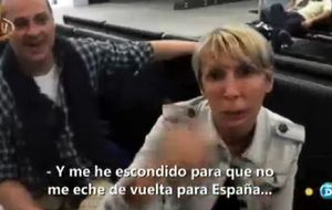 El encuentro de la familia Aznar su su viaje a 'Supervivientes'