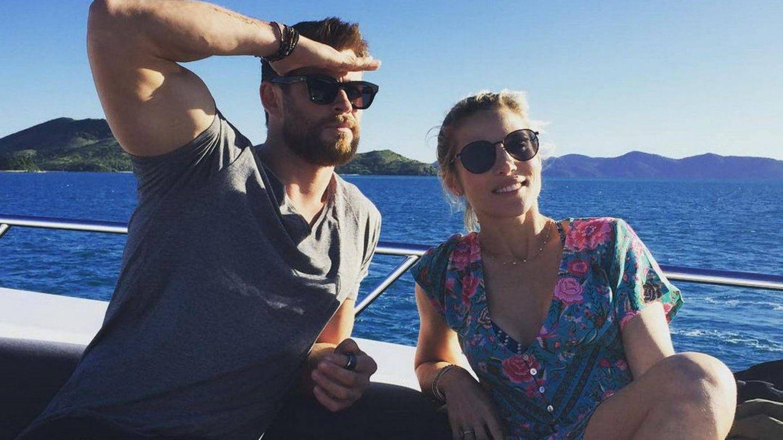 Elsa Pataky y Chris Hemsworth en una imagen de archivo. (Cordon Press)