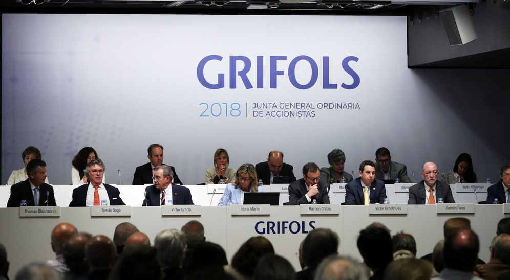 Foto: Junta de accionistas de Grifols. (Reuters)