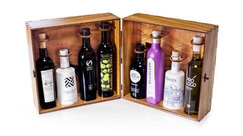 Madera de olivo, aceite y arte en un estuche único