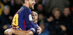 Post de La histórica primera vuelta del Barcelona de Valverde... y de Luis Suárez