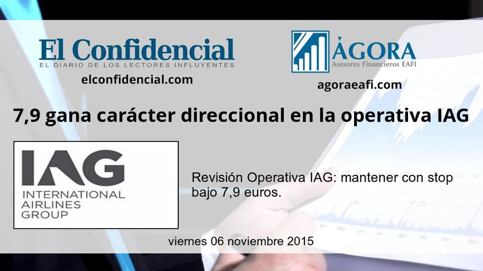 7,9 gana carácter direccional en la operativa IAG