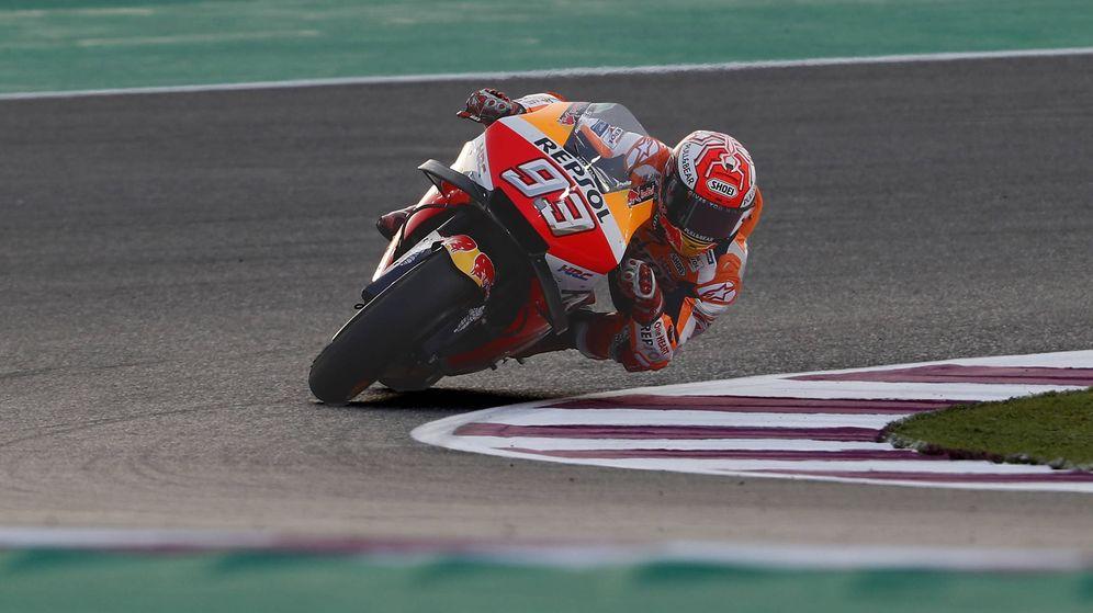Foto: Marc Márquez, vigente de campeón, es también la imagen de DAZN para MotoGP. (Foto: Repsol Honda)