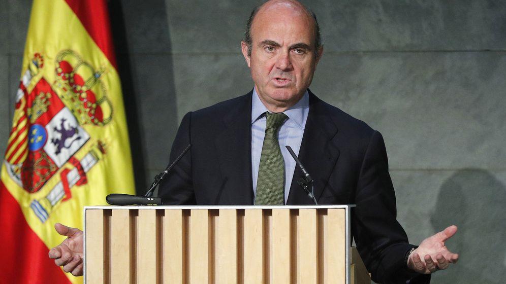 Foto: Ministro de Economía en funciones, Luis de Guindos (Efe)