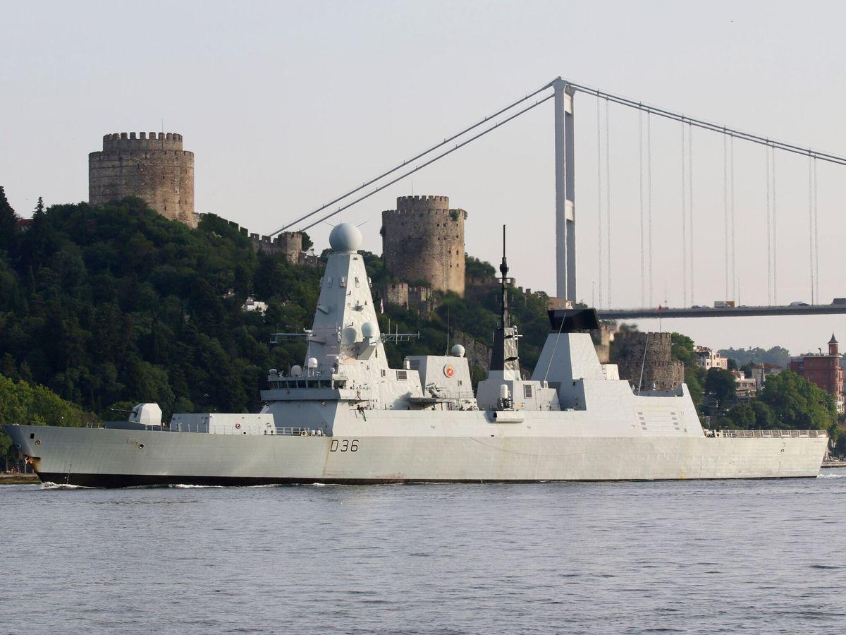 Foto: El destructor británico HMS 'Defender'. (Reuters)