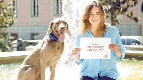 Barneda inicia una campaña para que Renfe permita viajar con perros