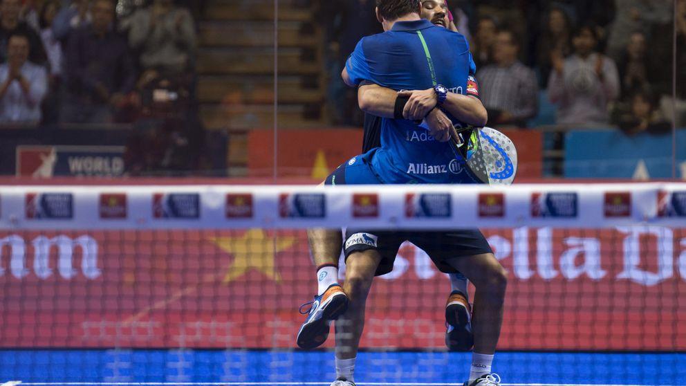 Con puntos como este ganaron Paquito y Sanyo a Bela y Lima en Santander Open