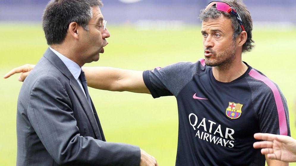Foto: Bartomeu ha dejado claro a Luis Enrique que Leo Messi es intocable. (Reuters)