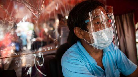 Combinar escudo facial y mascarilla aumenta la protección contra el covid-19