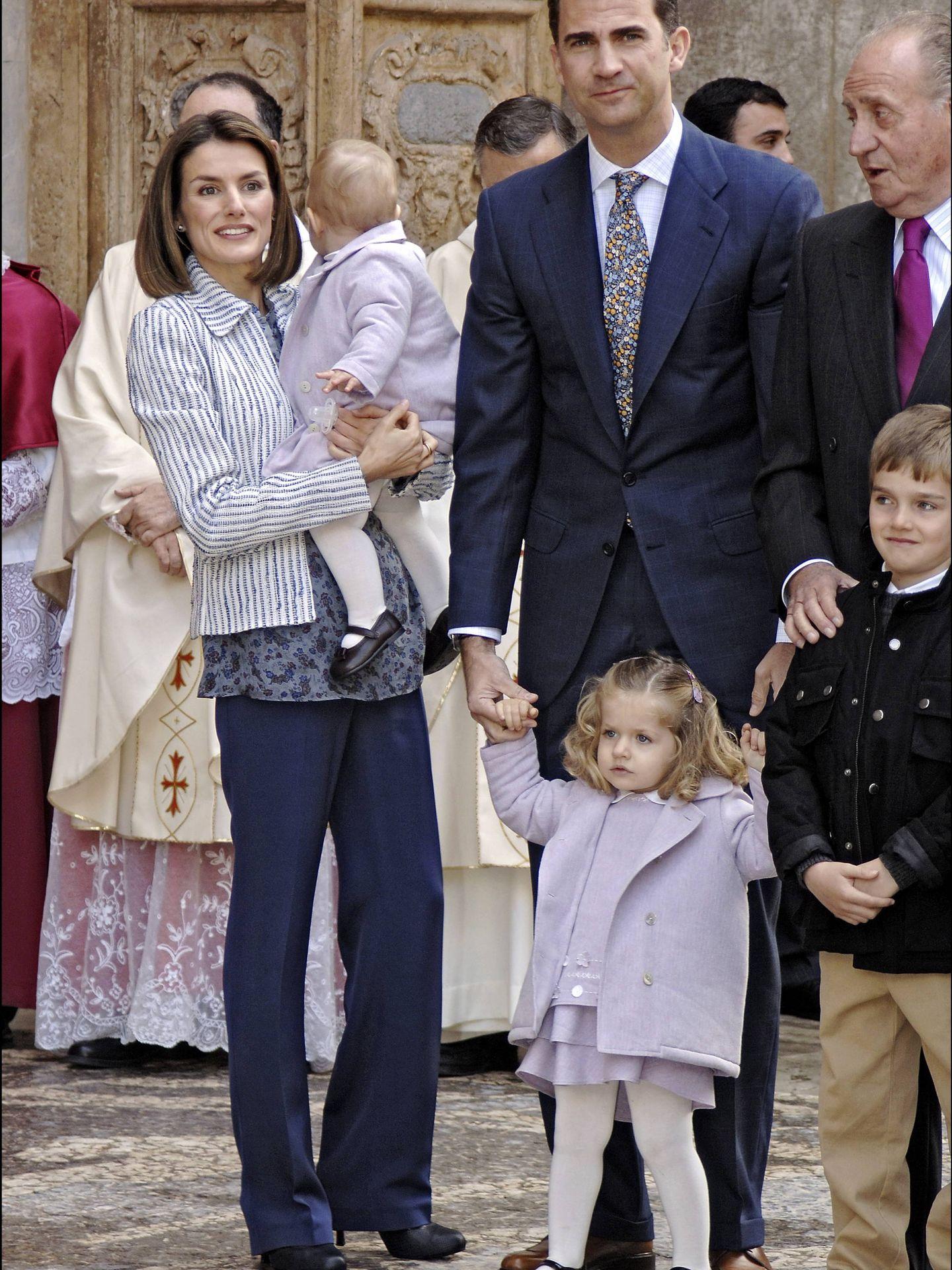 Los Príncipes, en 2008. (Gtres)