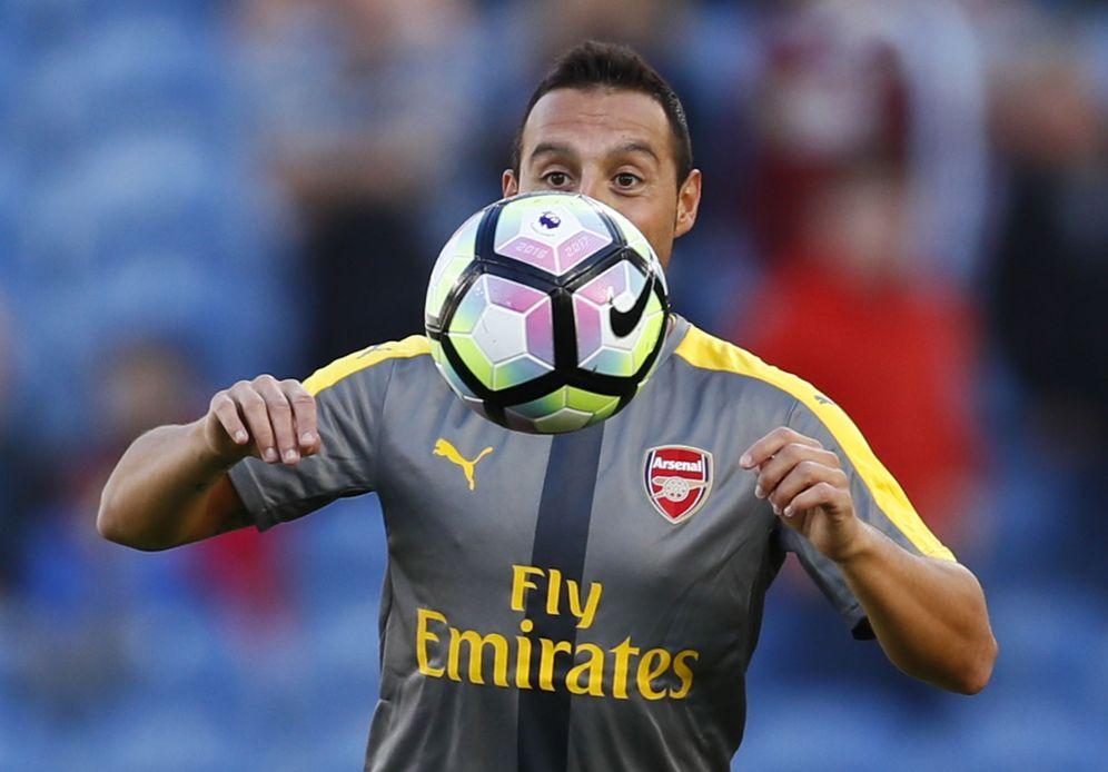 Foto: Santi Cazorla, durante un partido del Arsenal. (Reuters)
