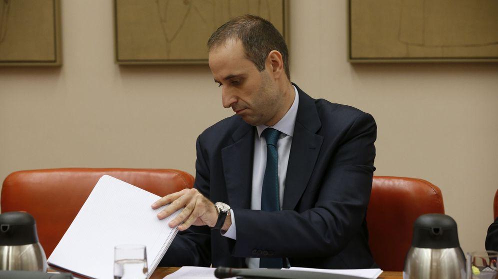Foto: El presidente del FROB, Jaime Ponce. (EFE)