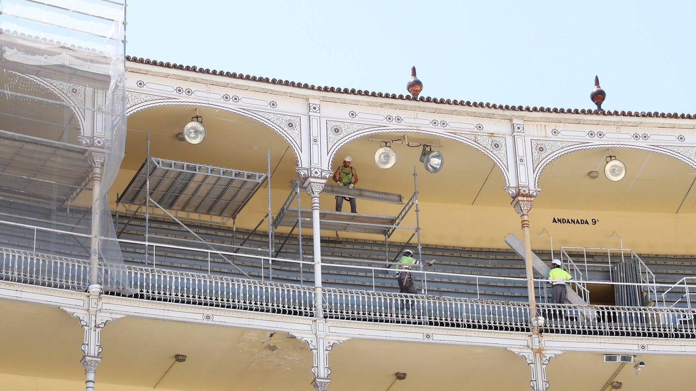 Las obras ya han comenzado en la plaza de Las Ventas.