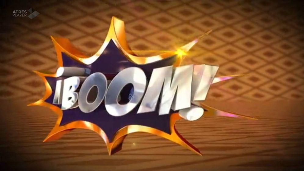 Foto: Logotipo del concurso '¡Boom!'.