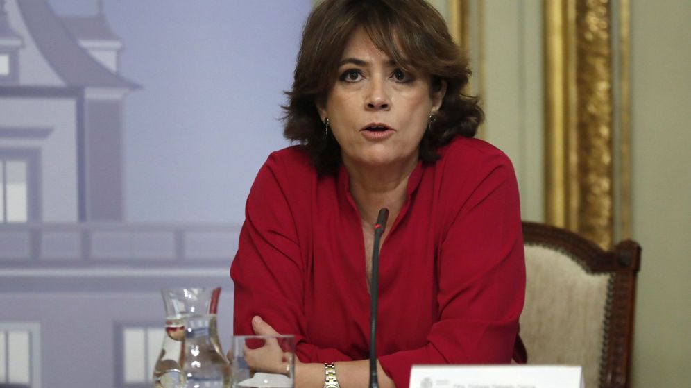Foto: La ministra de Justicia, Dolores Delgado. (EFE)