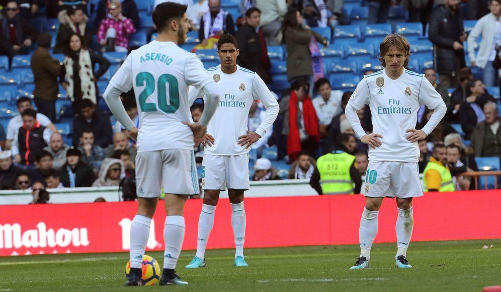 Foto: El Real Madrid no termina de encontrar su mejor versión esta temporada. (EFE)