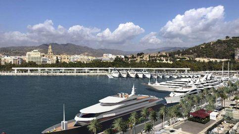 Yates más largos que el Bernabéu: la nueva marina de Málaga busca el lujo