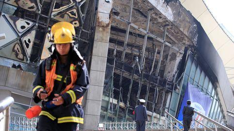 Arde el estadio del Shanghai Shenhua