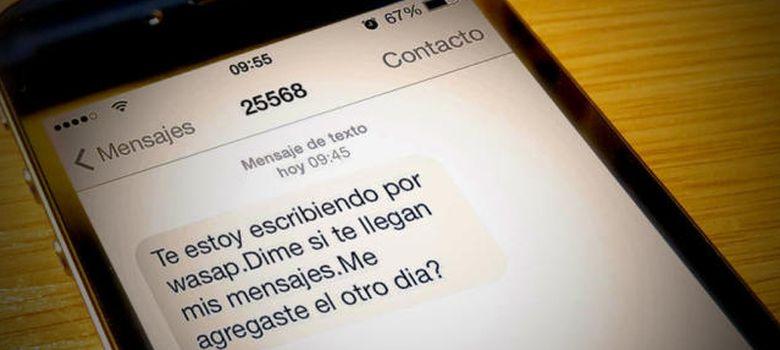 Foto: Soluciones para las pujantes estafas vía SMS y WhatsApp