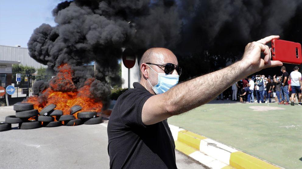 Los trabajadores de Nissan protestan contra el cierre de las plantas de Barcelona: Nos están dejando morir