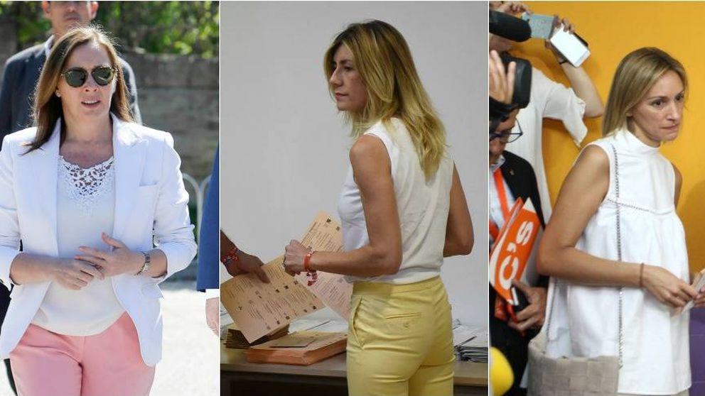 El 'look' de los políticos y sus parejas para ir a las urnas en el 26J