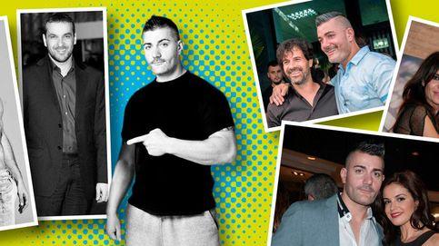 El cambio físico de Luis Merlo tras pasar por el 'personal trainer' de los famosos