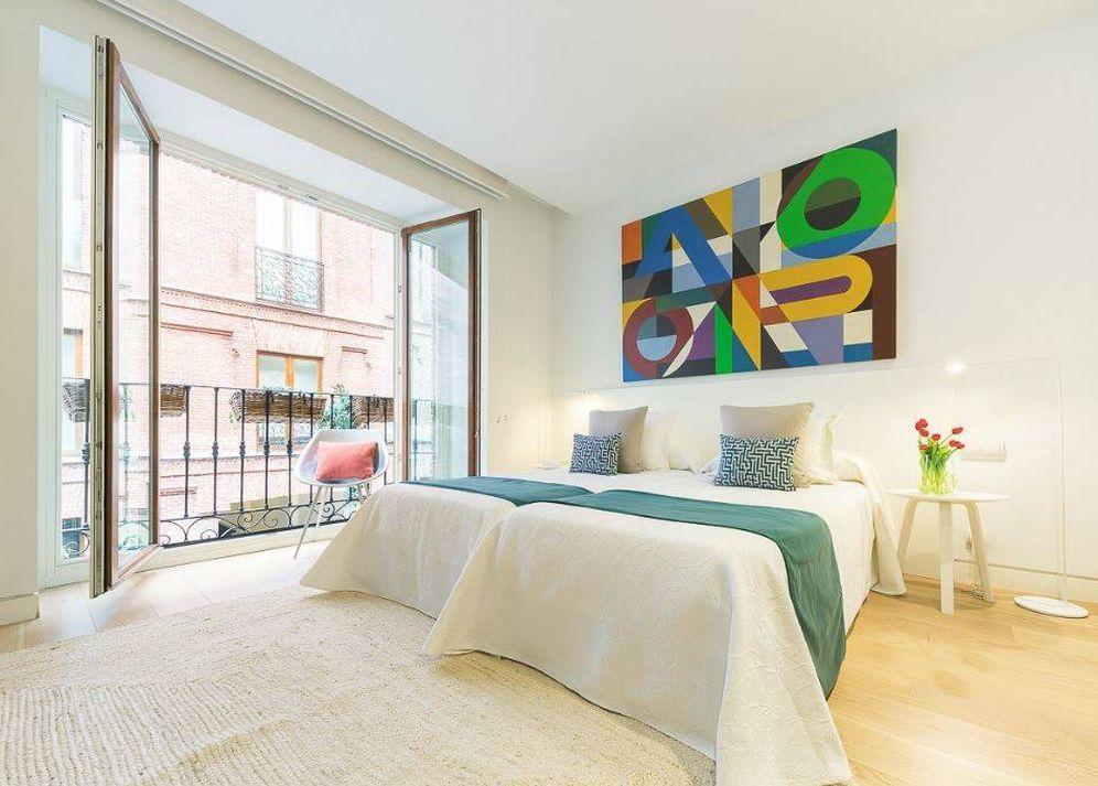 Foto: Interior del apartamento de Home Select de Génova 5.