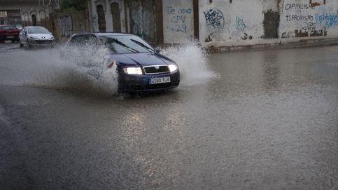 Cuatro provincias andaluzas en riesgo por precipitaciones y oleaje