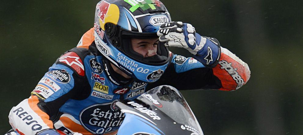 Foto: Àlex Márquez en la carrera de Brno (Efe).